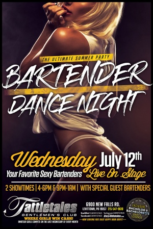 Bartender Dance Night