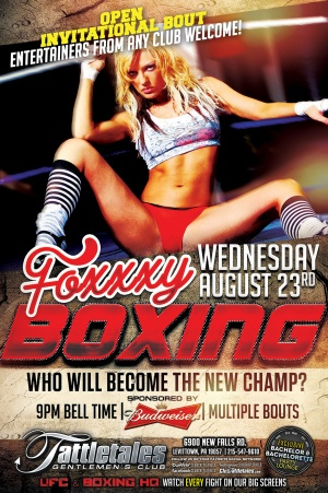 Foxy Boxing Event