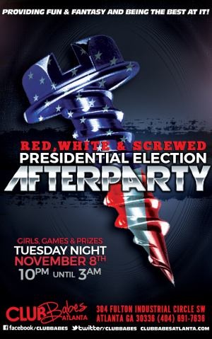 Red White & Screwed Flyer