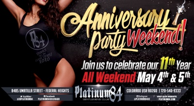 Platinum84 Anniversary Party
